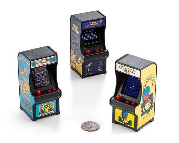Tiny Arcade Cabinets