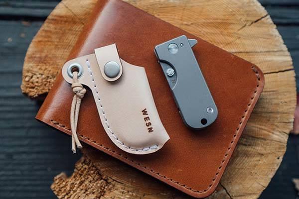 WESN Micro Blade Titanium EDC Pocket Knife