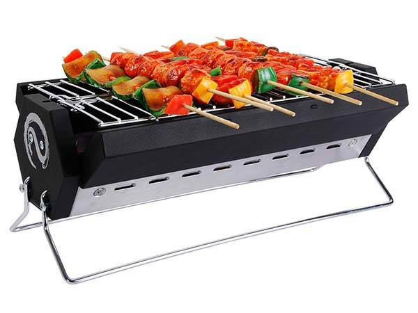 WolfWise Portable Charcoal BBQ Grill