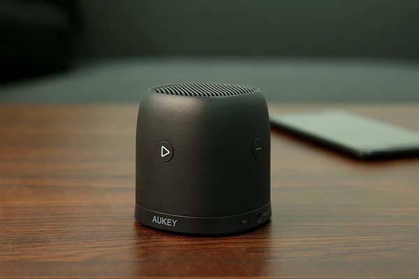Aukey Mini Bluetooth Speaker with FM Radio and MicroSD Card Slot