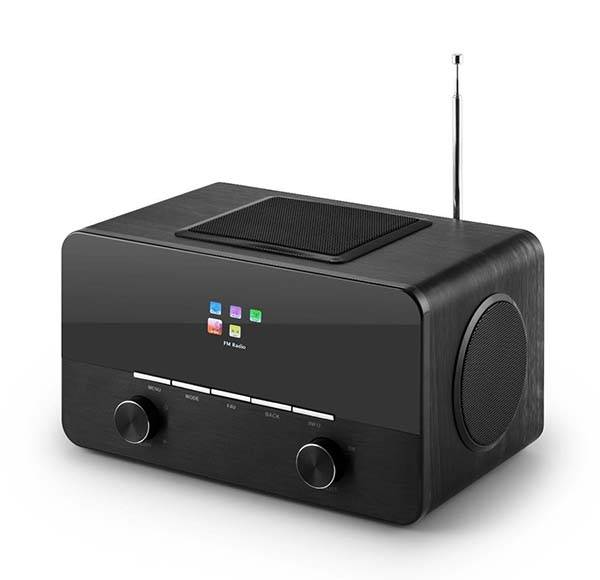 Auna 150BK Internet Radio with Spotify Connect and AM/FM Receiver