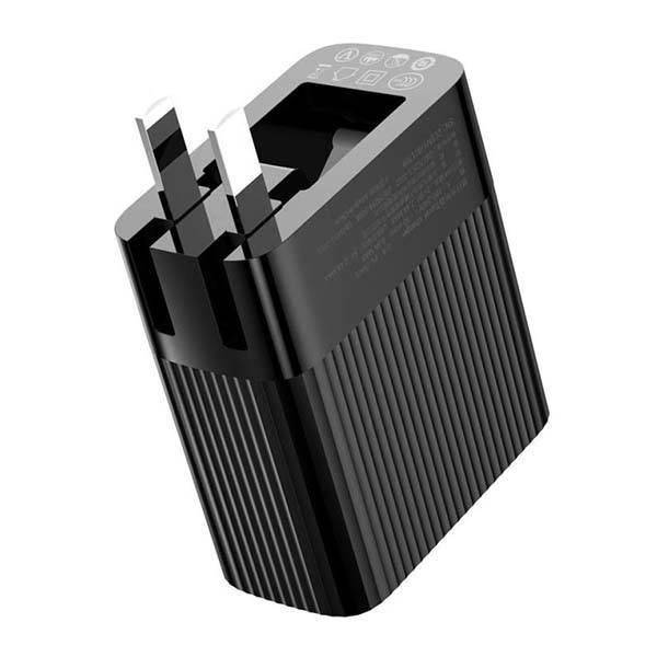 Baseus Transun Series Dual-U Foldable Wall Charger