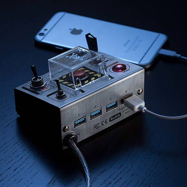 Cube-Works Self-Destruct USB 3.0 Hub