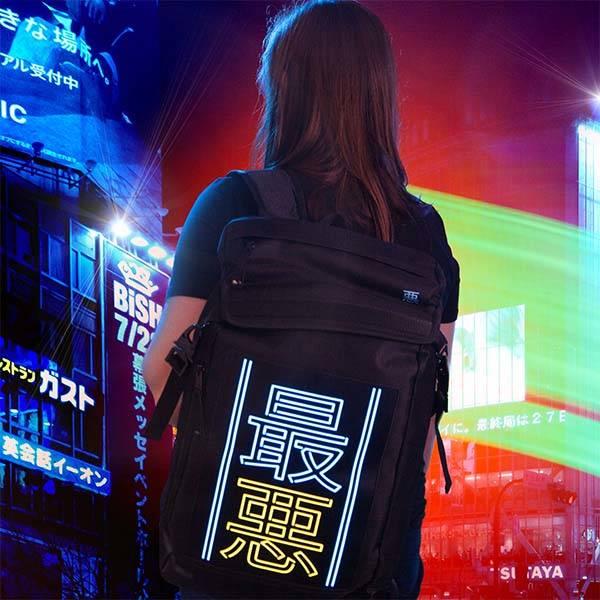 Cyberpunk 17 The Worst EL Backpack