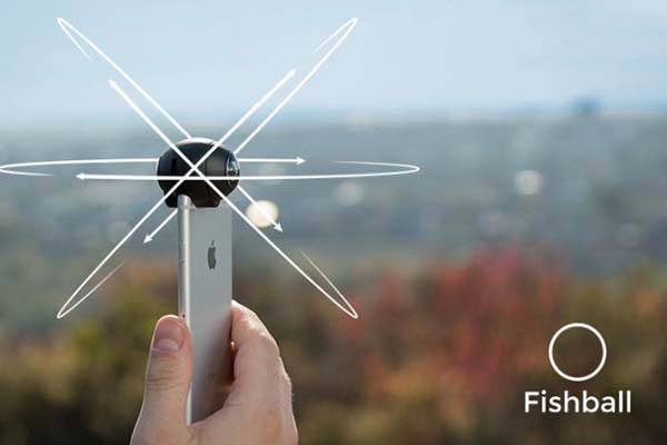 Fishball 360 Clip-on Lens for iPhone