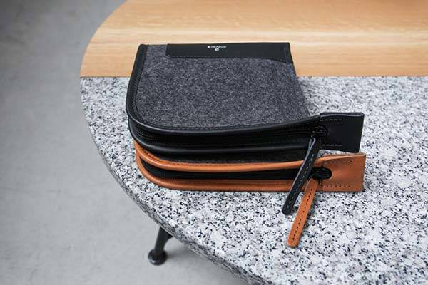 Handmade Accessory Case for MacBook Adapter, Earbuds and More