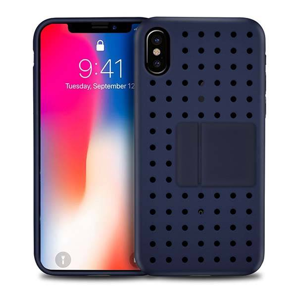 Hycles Slim iPhone X Case with Freely Assembled Stand