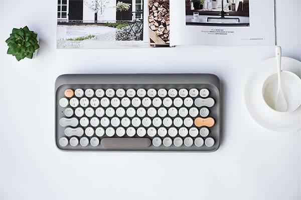 Lofree Four Seasons Retro Wired and Wireless Mechanical Keyboard