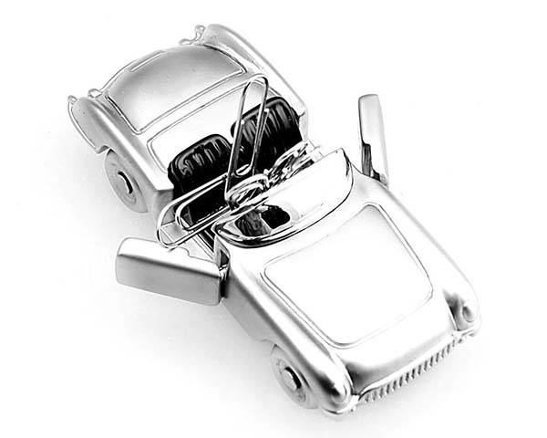 Mini Roadster Magnetic Paperclip Holder