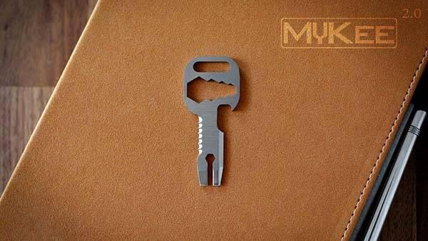 MyKee 2.0 Titanium Multi-Tool Key