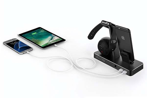 One Dock Beat MFi Charging Station with Bluetooth Speaker