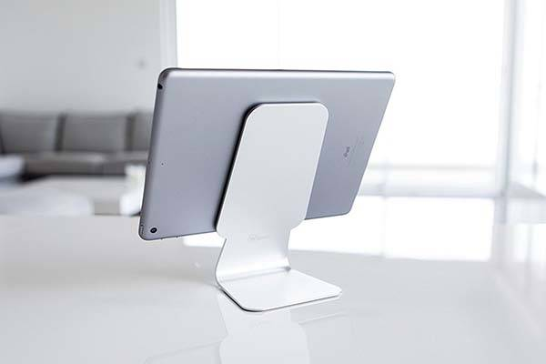 Slope Aluminum Tablet Stand with Micro Suction Pad