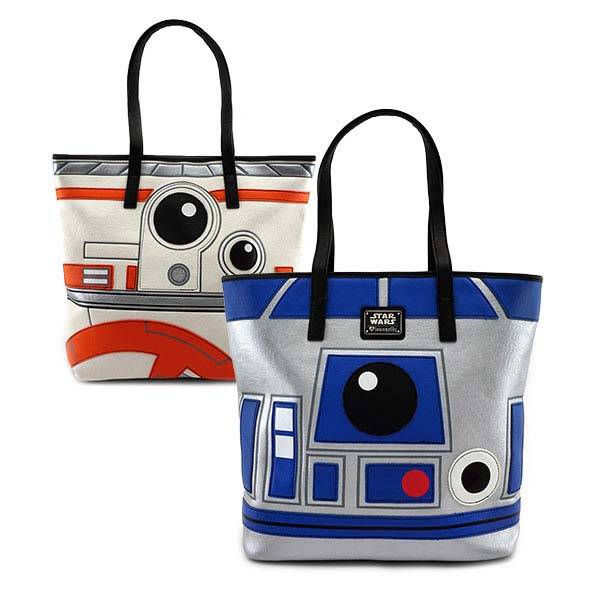 Star Wars R2-D2 and BB-8 Faux Leather Tote Bag