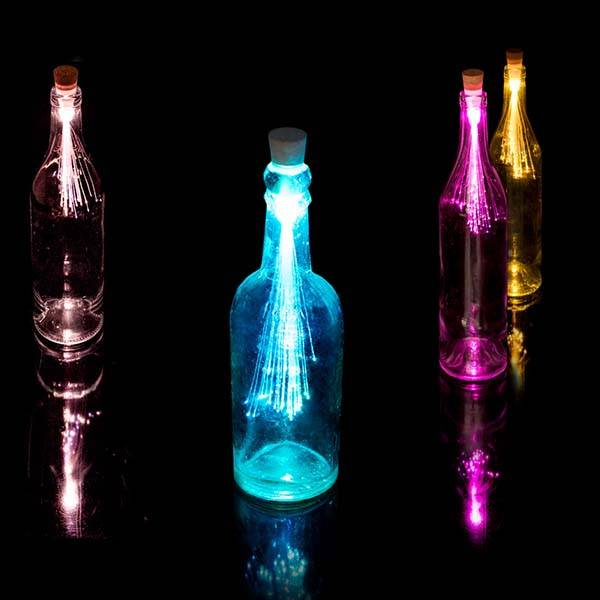 SUCK UK Fiber Optic LED Bottle Light