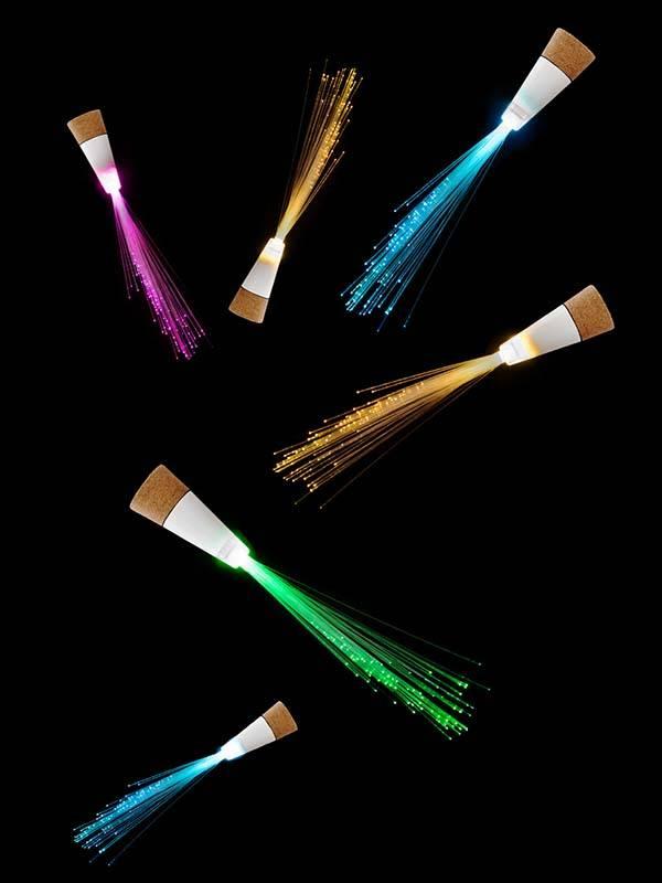 SUCK UK Fiber Optic LED Bottle Light
