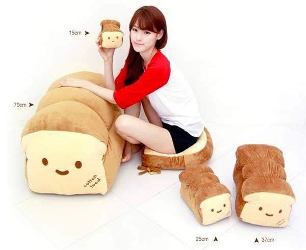The Cute Bread Plush Pillow