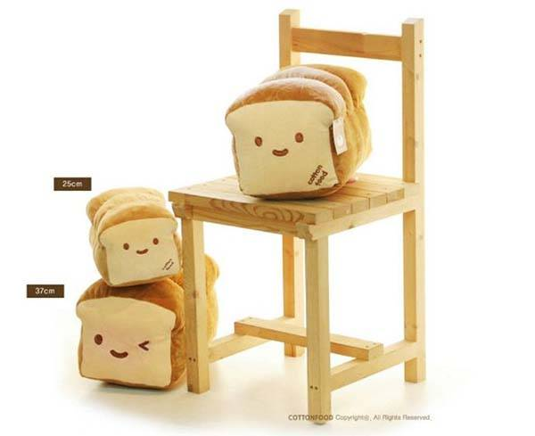 The Cute Bread Plush Pillow