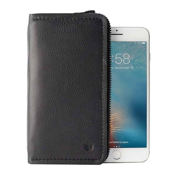Handmade Customizable iPhone X Leather Wallet