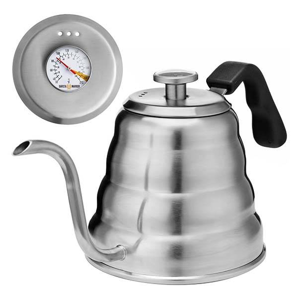 The Pour Over Coffee Kettle with Built-in Thermometer