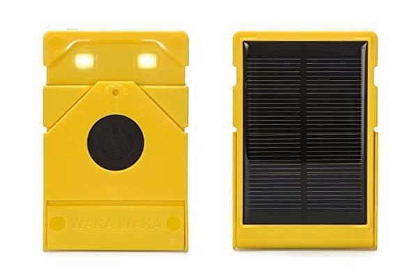 WakaWaka Light Solar Powered LED Flashlight