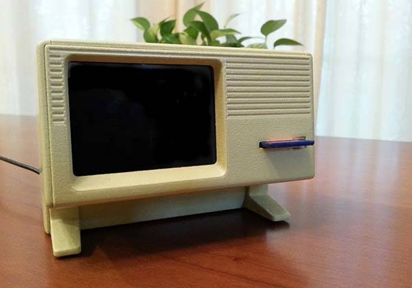 3D Printed Apple Lisa Raspberry Pi Case