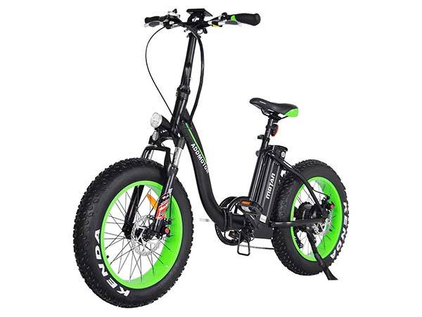Addmotor M 140 Folding Electric Bicycle With Two 20 Inch