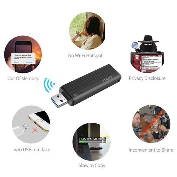 AirDisk USB 3.0 Wireless Flash Drive