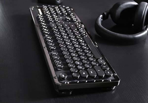 Azio Retro Classic Bluetooth Mechanical Keyboard