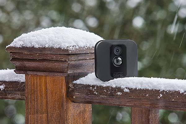 Blink XT Smart Home Security Camera Supports Amazon Alexa