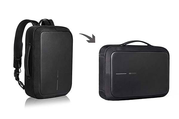 The Anti-Theft Backpack Doubles as a Briefcase