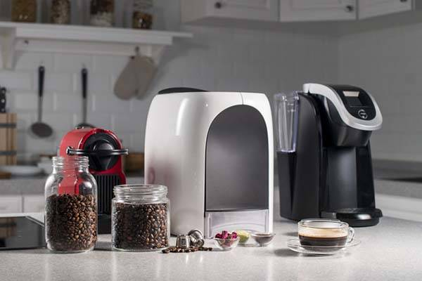 Capsulier App-Enabled Coffee Capsule Maker Works with Amazon Alexa