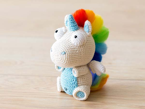 25+ Unicorn Crochet Patterns {Magical crochet toys to make you ... | 450x600