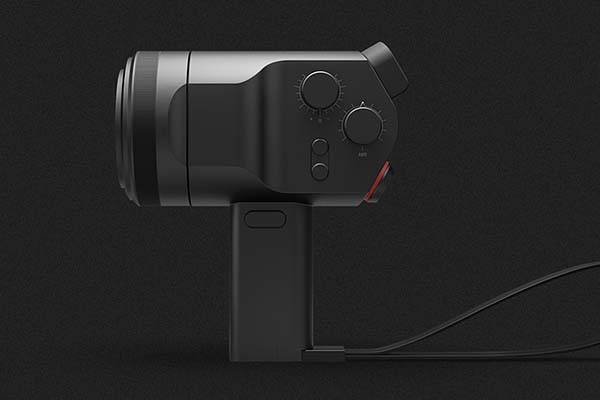 D4H Concept Mirrorless Camera Inspired by Super 8 Film Camera
