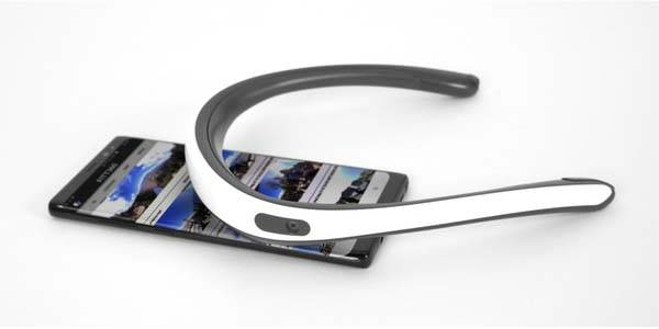 FITT360 Neckband Wearable 360 Camera