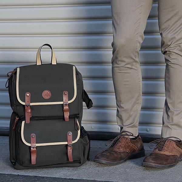 GOgroove Full-Size DSLR Camera Backpack