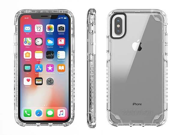 Griffin Survivor Strong Slim Yet Rugged iPhone X Case