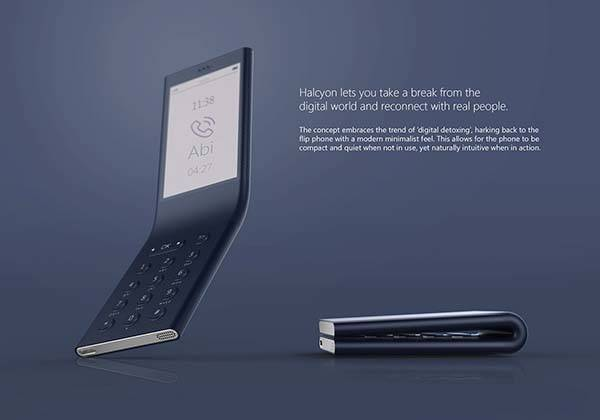 Halcyon Bendable Phone