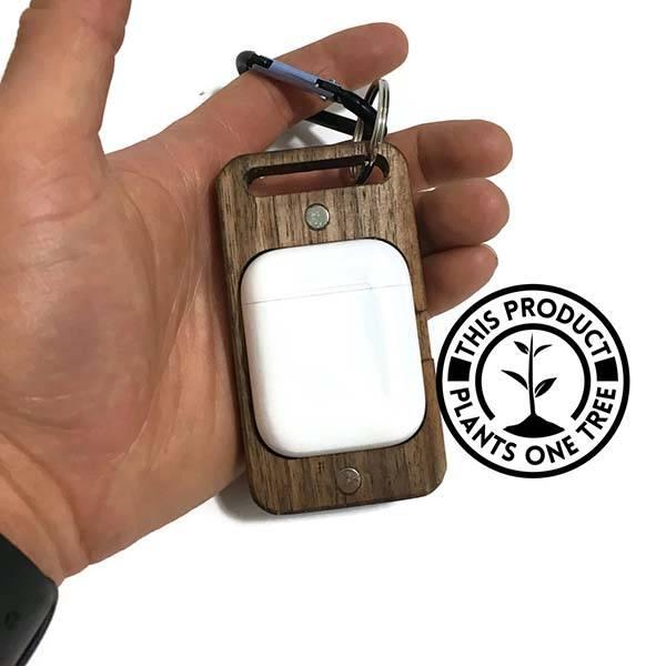 Handmade Wooden AirPods Case