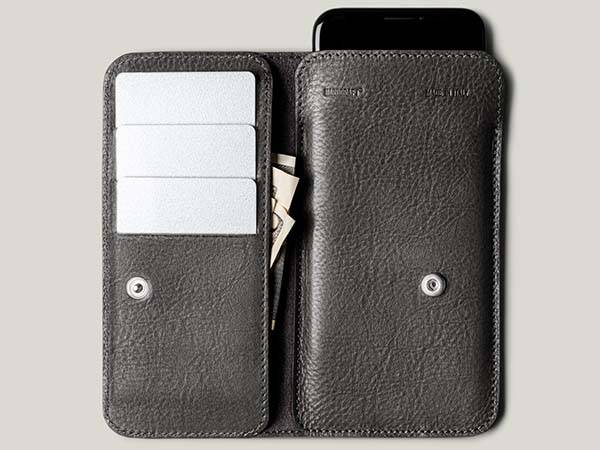 Hard Graft Phone Cash Card Combo iPhone Leather Wallet