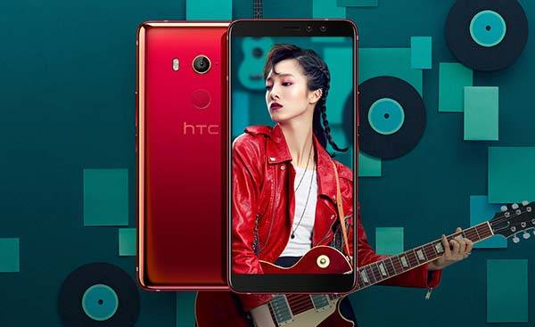 HTC U11 EYEs Android Smartphone with Dual Front Cameras