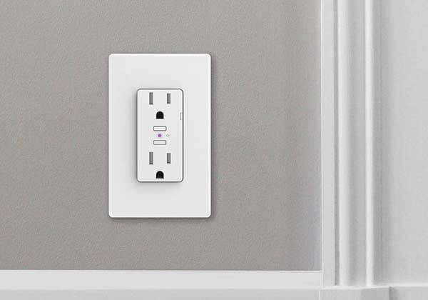 iDevice Smart Wall Outlet Supports Amazon Alexa