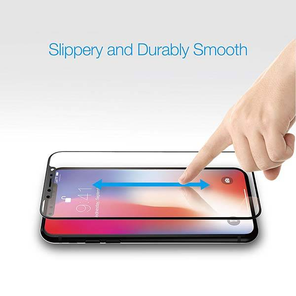 Just Mobile Xkin iPhone X Tempered Glass Screen Protector