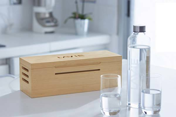 LaVie Water Purifier Turns Tap Water into Mineral Water with UV-A Light