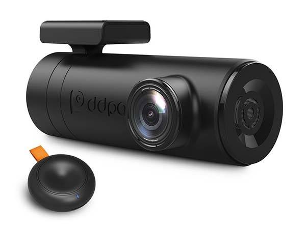Mini2P WiFi Dash Cam with Night Vision and Dual USB Adapter