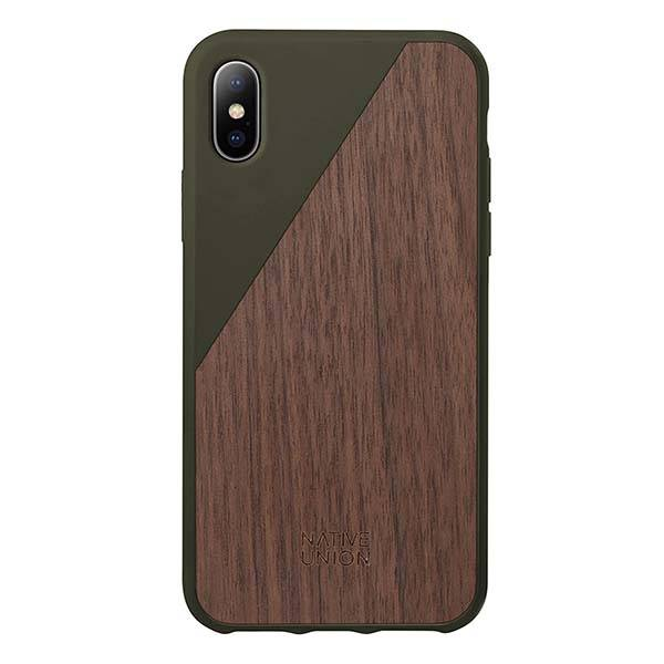 Native Union CLIC Wooden iPhone X Case