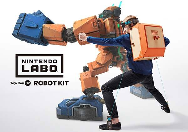 Nintendo Labo Cardboard Toy-Cons for Nintendo Switch