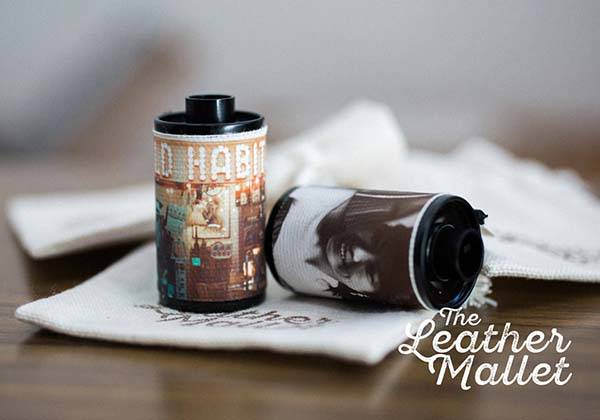 Personalized Film Roll with Your Own Photos and Messages