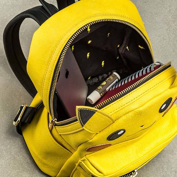 Pokemon Pikachu Leather Mini Backpack