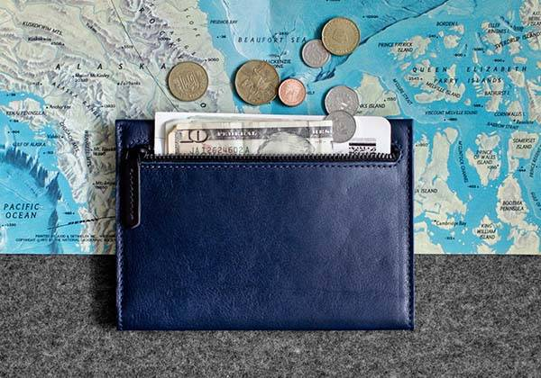 Rampart Handmade Leather Passport Travel Wallet