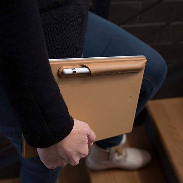 Twelve South PencilSnap Magnetic Apple Pencil Leather Case